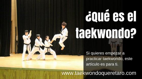 que es el taekwondo
